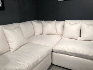 100% STAIN RESISTANT CLOUD Modular Sectional Sofa Couch (Reg $6,000) - $3,000 for Sale in Beverly Hills, CA
