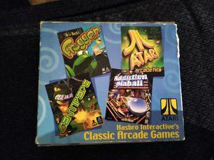 Hasbro CD ROM classic arcade games for Sale in Warren, MI