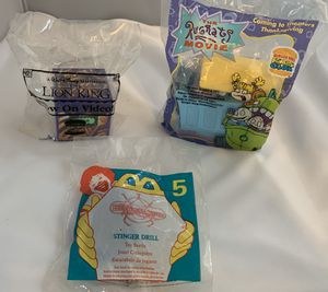 Burger King 90's Kid's Meal Toys for Sale in Indianapolis, IN