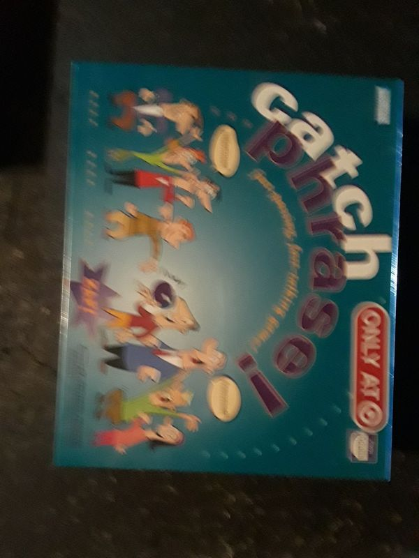 Catchphrase the board game