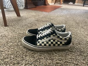 checkered black vans for Sale in Corpus Christi, TX