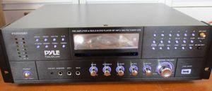 Pyle 4 Channel Wireless Bluetooth Amplifier - 3000 Watt Stereo Speaker Home Audio Receiver PD3000BA for Sale in Santa Rosa, CA