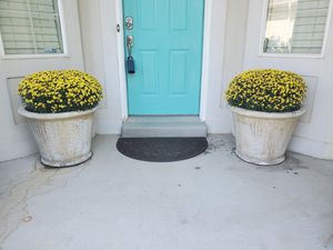 Large concrete planting pots for Sale in Saratoga Springs, UT