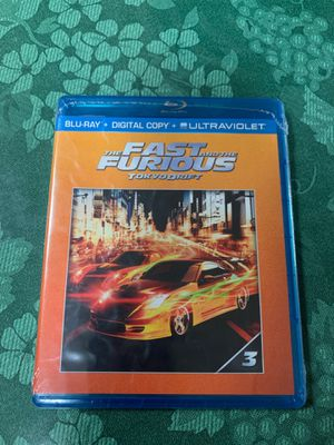 The Fast and the Furious Tokyo Drift Blu-Ray + Digital Copy Sealed for Sale in Downey, CA