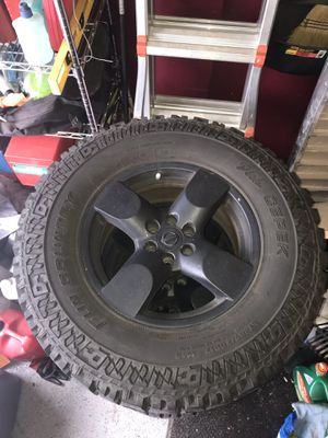 Rims & Tires for Nissan Truck for Sale in McDonogh, MD
