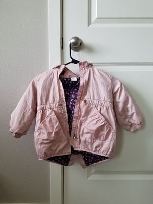 Light pink fall jacket/ hat for Sale in Vancouver, WA