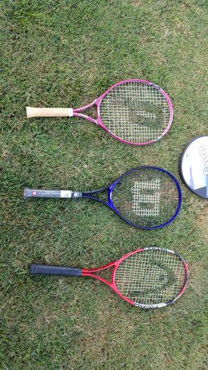 3 tennis rackets for Sale in Orange, CA