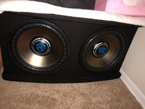 Rocville sound woofer with amplifier never used before for Sale in Washington, DC