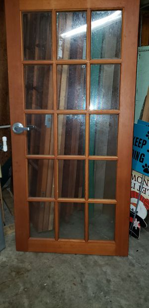 Solid wood French style doors for Sale in Tampa, FL