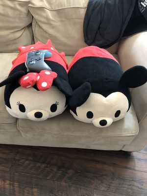 Plushy! Mickey and Mini for Sale in Upland, CA