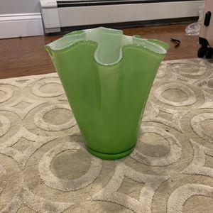 Glass Murano Flower Vase for Sale in Burlington, MA