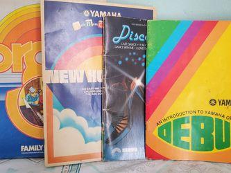 Yamaha Organ Books for Sale in Cerritos,  CA
