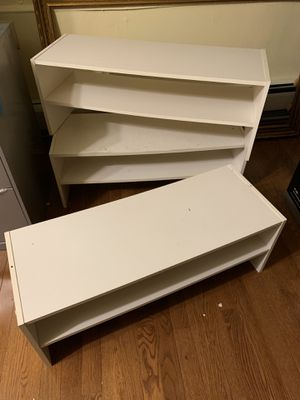 Moving Sale! 2-Shelf Shoe Stacker for Sale in Silver Spring, MD