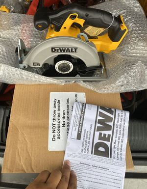 Dewalt 20v Max 6-1/2in Circular saw Tool Only New for Sale in San Diego, CA