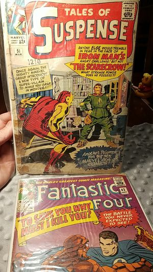 Fantastic Four issue number 42 and the tale of suspense Iron Man's 8 appearance for Sale in Monterey Park, CA