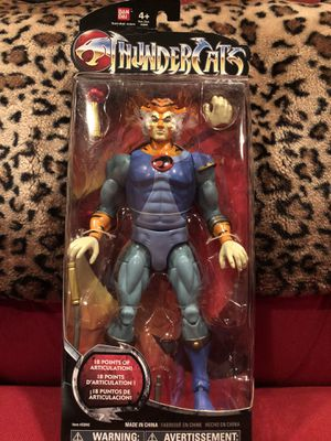 "Tygra Thundercats Classic 8"" action Figure Bandai cartoon collectible movie tv for Sale in Los Angeles, CA"