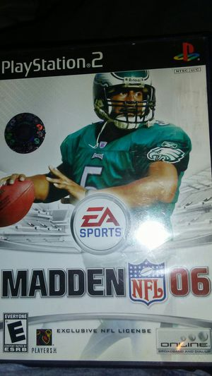 PS2 Madden o6 for Sale in Madera, CA