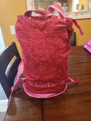 AMERICAN GIRL DOL BACKPACK for Sale in Whitehall, OH