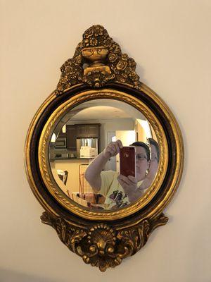 Beautiful antique gold mirror for Sale in Boston, MA