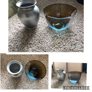 $5 for both, decor Vase & Bowl for Sale in Los Alamitos, CA