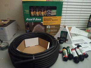 Rain Bird 32ETI Underground Irrigation Automation Sprinkler System Kit for Sale in Arlington, TX