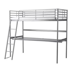 IKEA Bed Frame with Desk for Sale in Whittier, CA