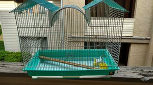 25x 22x 13 pH prevue white and teal bird cage for Sale in Columbus, OH