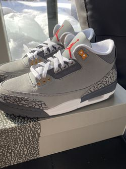 Jordan 3 Cool Grey Sizes 8,8.5,10.5 for Sale in Hickory Hills,  IL