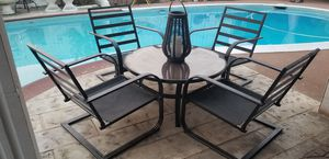 Iron Dining Patio Set with Cushions! Excellent Conditions ! for Sale in Spring Valley, CA