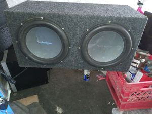 "2 12"" rockford p2 subwoofers for Sale in Lancaster, PA"