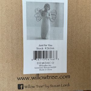 Willow Tree Susan Lordi Just For You With Sincere Thanks for Sale in Barnegat Township, NJ