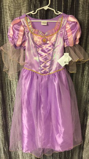 Disney Brand Princess Rapunzel Costume with Matching Shoes & Accessory Kit - NWT for Sale in Scottsdale, AZ