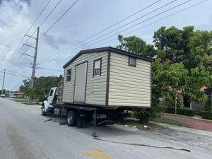 Sheds relocated,,, movemo casita de patio Rv container for Sale in Miami Gardens, FL