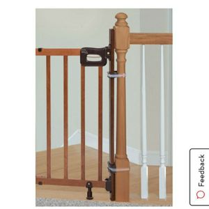 ~NEW IN BOX~ Banister to Banister/Wall Baby Gate Hardwared for Sale in Redding, CA