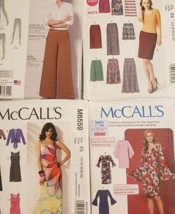 13 Sewing Patterns For Ladies Size 14/16 to 22/24 for Sale in Atlanta,  GA