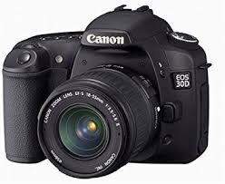 Canon EOS 30D 8.2 Megapixel Digital SLR Camera w/18-55mm lens for Sale in San Francisco, CA
