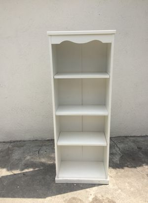 White Bookcase for Sale in Downey, CA