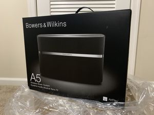Bowers and Wilkins A5 wireless music system for Sale in Garrison, MD