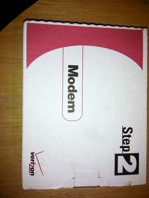 WESTELL WIRESPEED DSL MODEM STEP 2 HOME OR OFFICE by Verizon model# B90-210015-04 / part# B99-211015-00 for Sale in Washington, DC