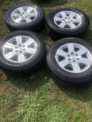 "18"" CHEVY 6 LUG OEM RIMS for Sale in Midlothian, VA"