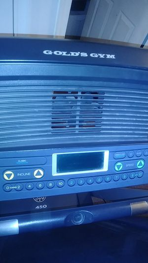 Gold Gym Treadmill for Sale in Frederick, MD