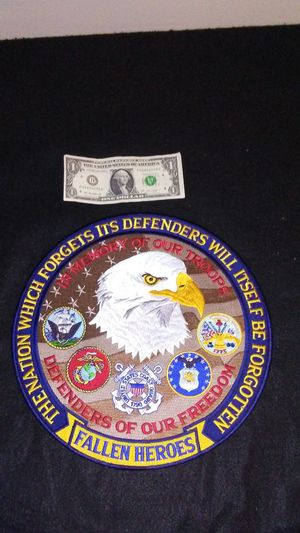 Defenders of Freedom Fallen Soldiers military patch for Sale in Cleveland, OH