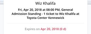 Wiz Khalifa for Sale in Kennewick, WA