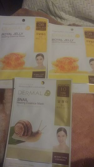 face sheet mask by Dermal for Sale in Chelmsford, MA