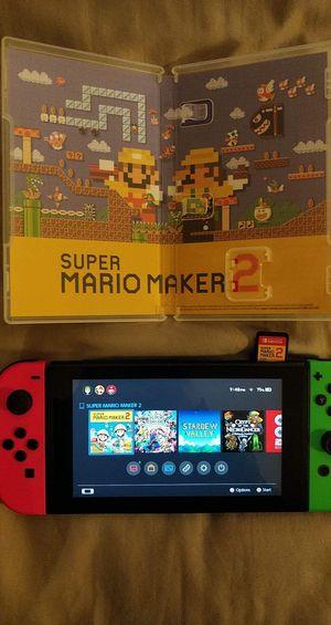 Mario Maker 2 for Sale in Bellevue, WA