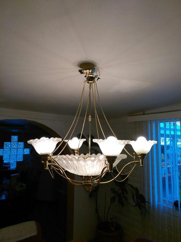 Beautiful hanging lamp chandelier