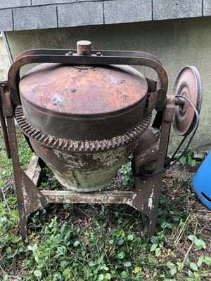 Antique cement mixer for Sale in Collinsville, IL