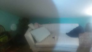 White leather couch for Sale in Nashville, TN