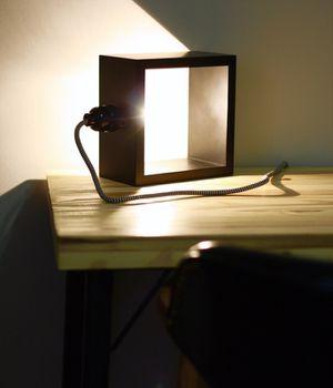 Shadow Box Lamp for Sale in Salt Lake City, UT