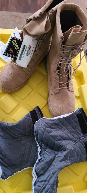 Combat/work boots for Sale in Denver, CO